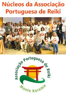 Núcleos da Associação Portuguesa de Reiki