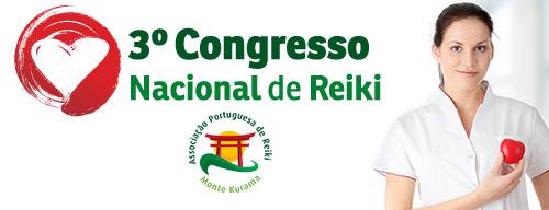 3.º Congresso Nacional de Reiki em Outubro