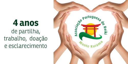 4 anos de Associação Portuguesa de Reiki
