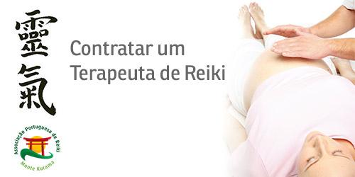 Contratar um terapeuta de Reiki