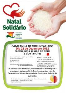 Guimaraes Natal Reiki Solidario
