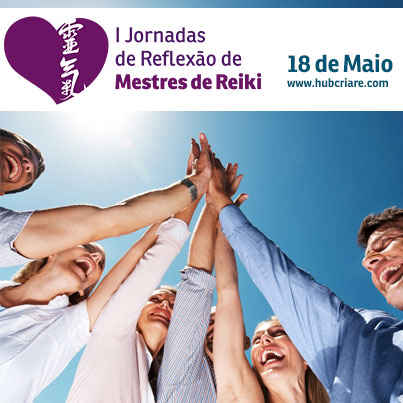 Inscreva-se I Jornadas de Reflexo de Mestres de Reiki