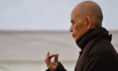 Zen master Thich Nhat Hanh