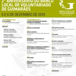 Núcleo de Guimarães presente no 2.º Aniversário do Banco Local de Voluntariado