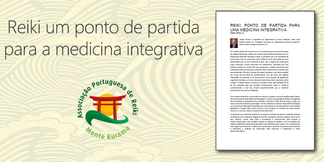 Reiki um ponto de partida para a medicina integrativa