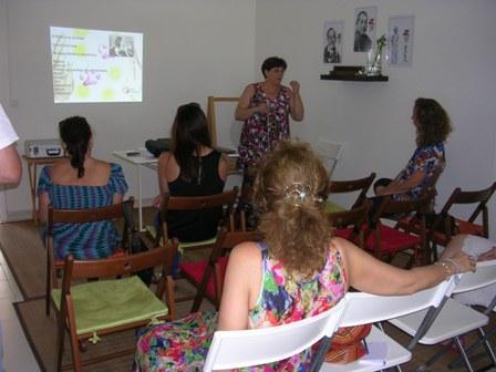 Olinda Ângelo partilhou conhecimento sobre Reiki para animais na Casa Coração