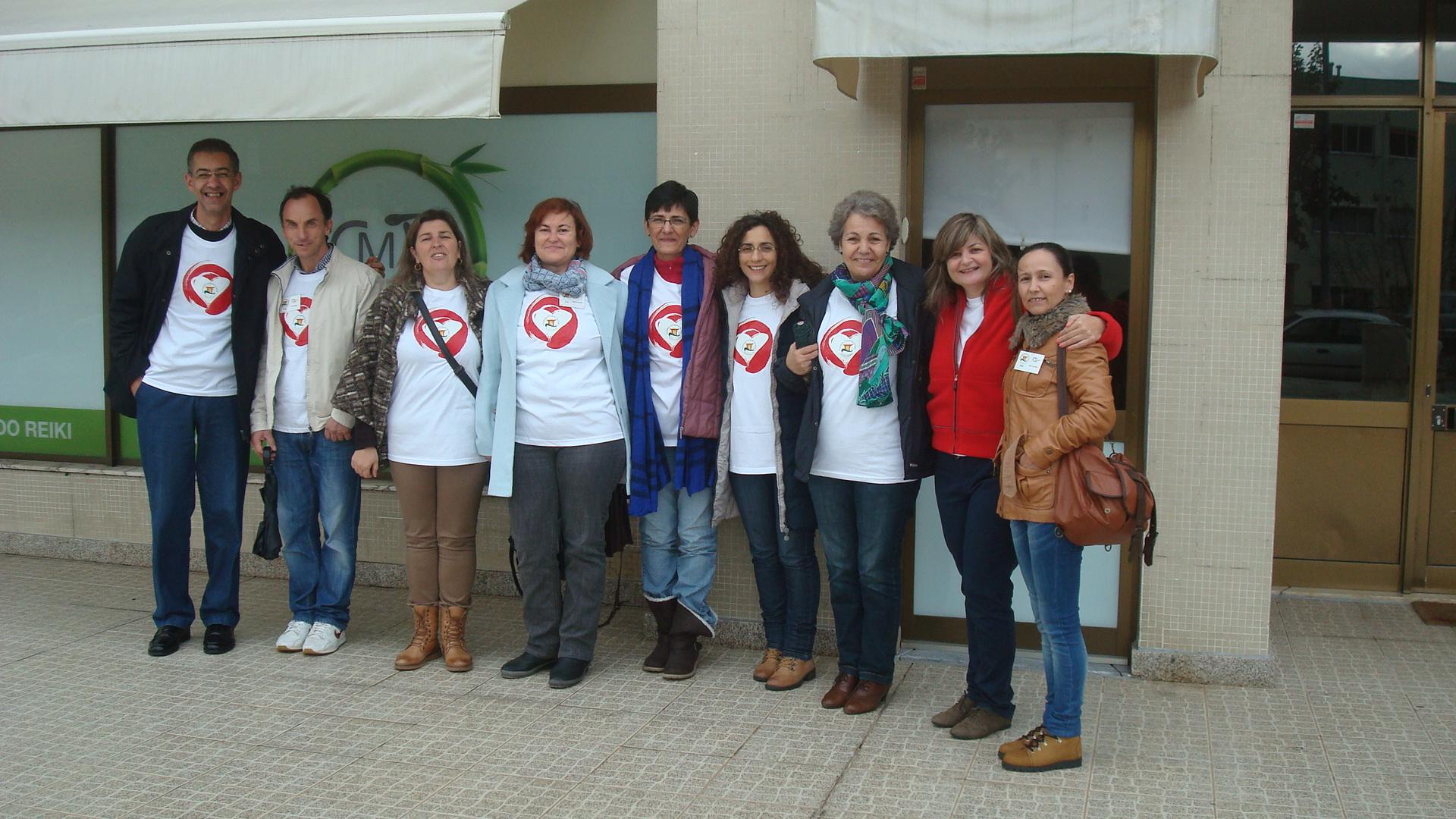 Voluntariado Reiki no lar de idosos Miminho, em Braga