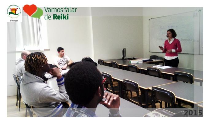 Núcleo de Setúbal leva Reiki à Escola Secundária Sebastião da Gama