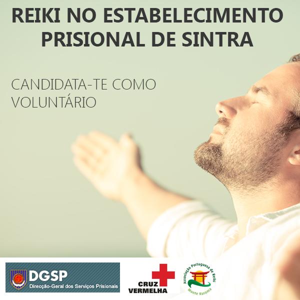 reiki no estabelecimento prisional de sintra