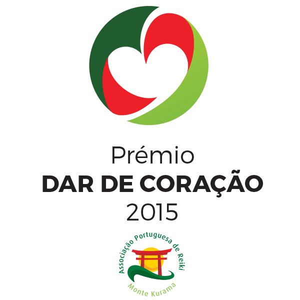 prémio dar de coração 2015 logo