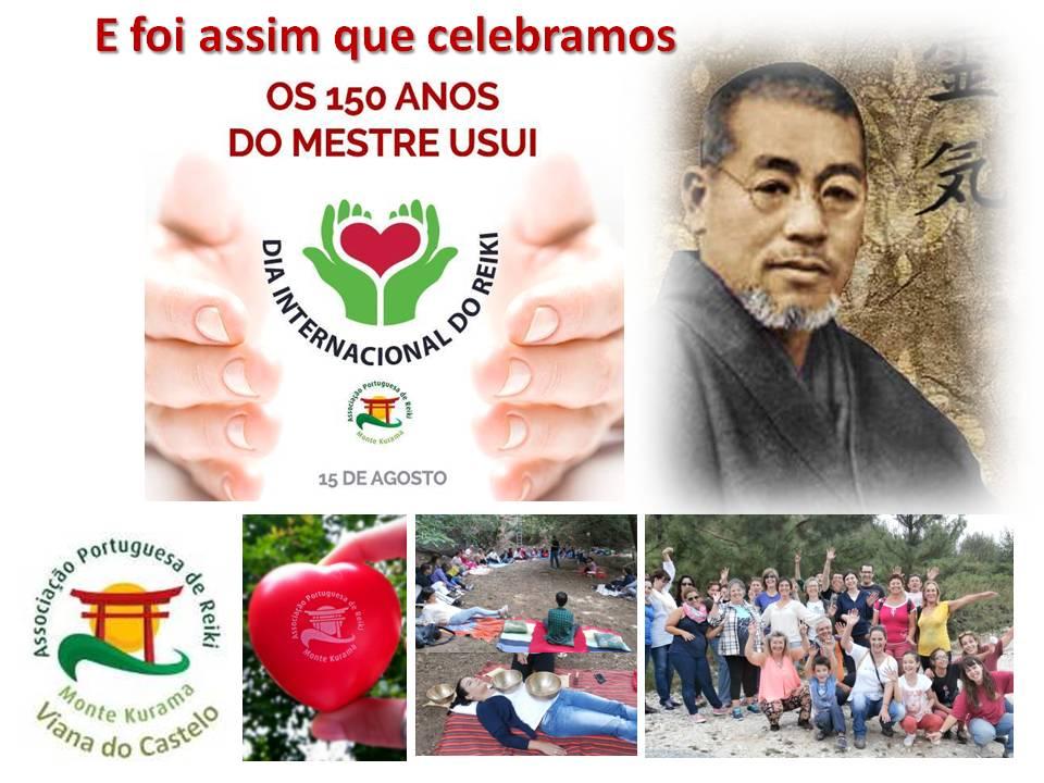 O Nucleo de Viana do Castelo Celebrou os 150 anos do nosso Mestre Mikao Usui.