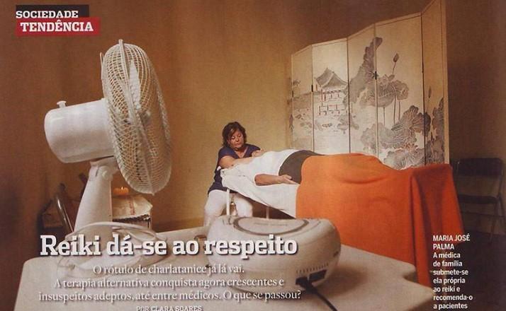 Reiki dá-se ao respeito – reportagem na revista Visão