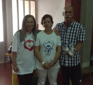 Donativo angariado para a casa Acreditar Coimbra Ana Gonçalves mae do Ludgero Carvalho e Sr Mario Pinto