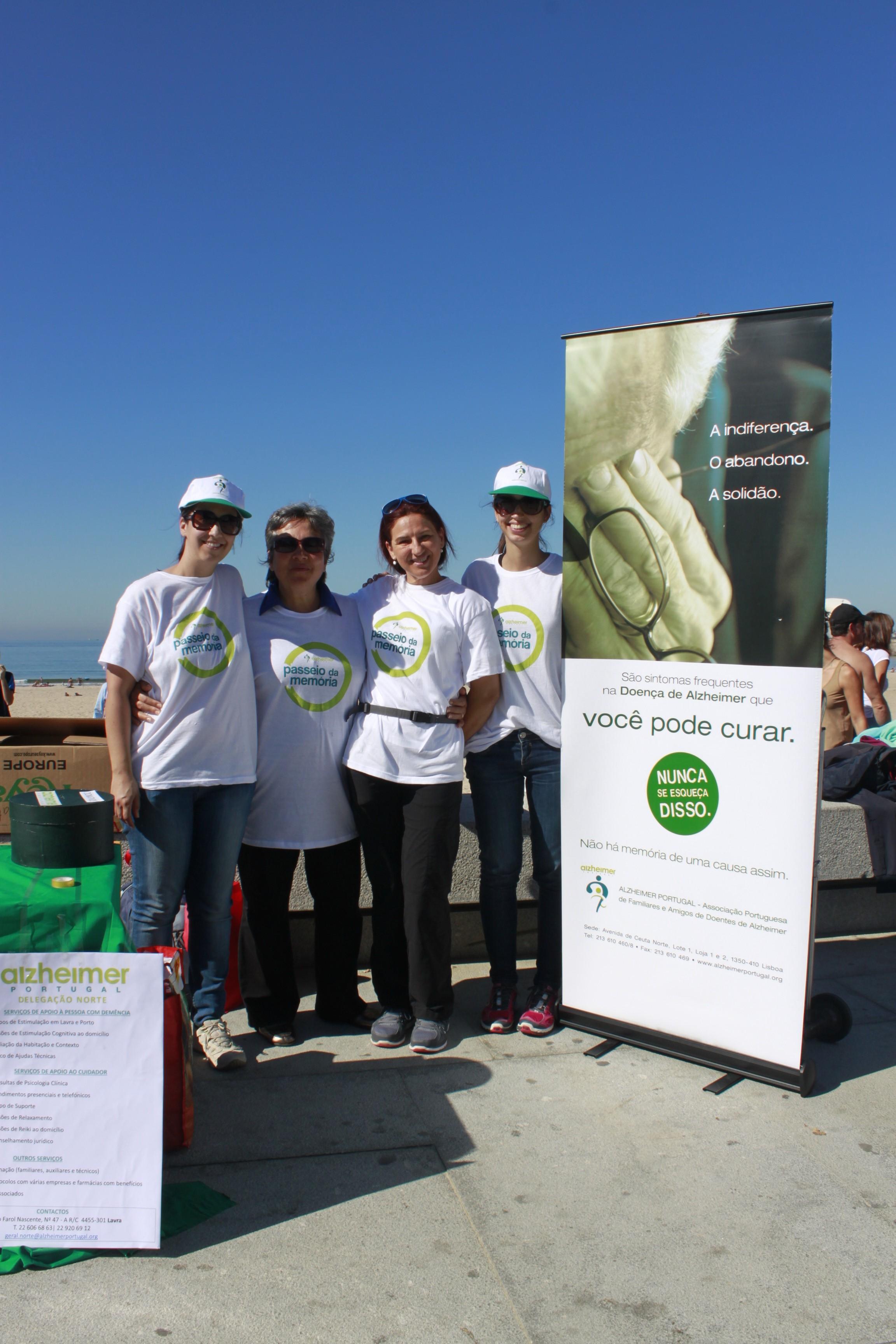 Nucleo do Porto de mãos dadas com Delegação Portuguesa de Alzheimer