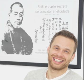 Daniel Azevedo, Mestre e Terapeuta de Reiki