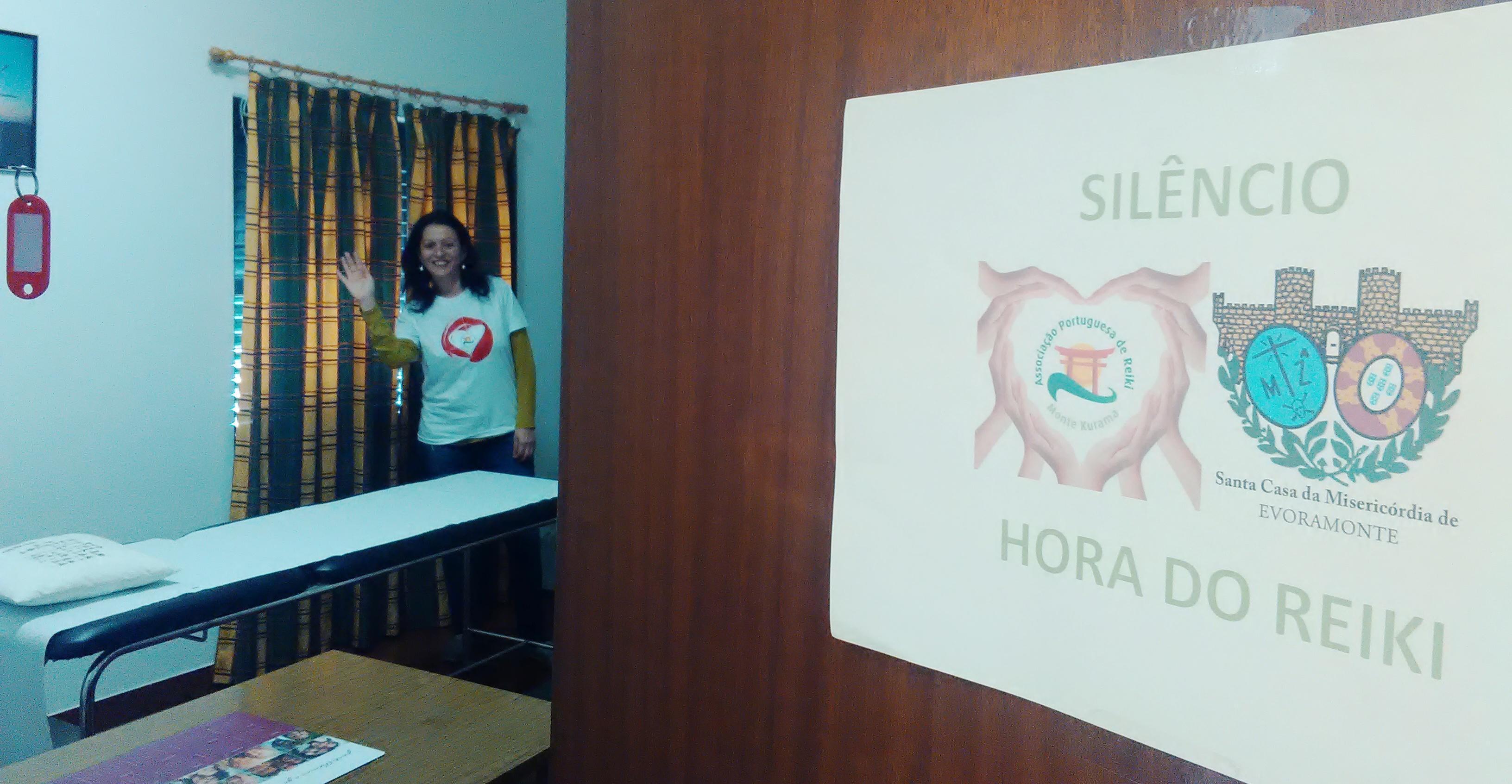 """""""Voluntariado de Reiki aos """"cuidadores"""" na Santa Casa da Misericórdia de Evoramonte"""