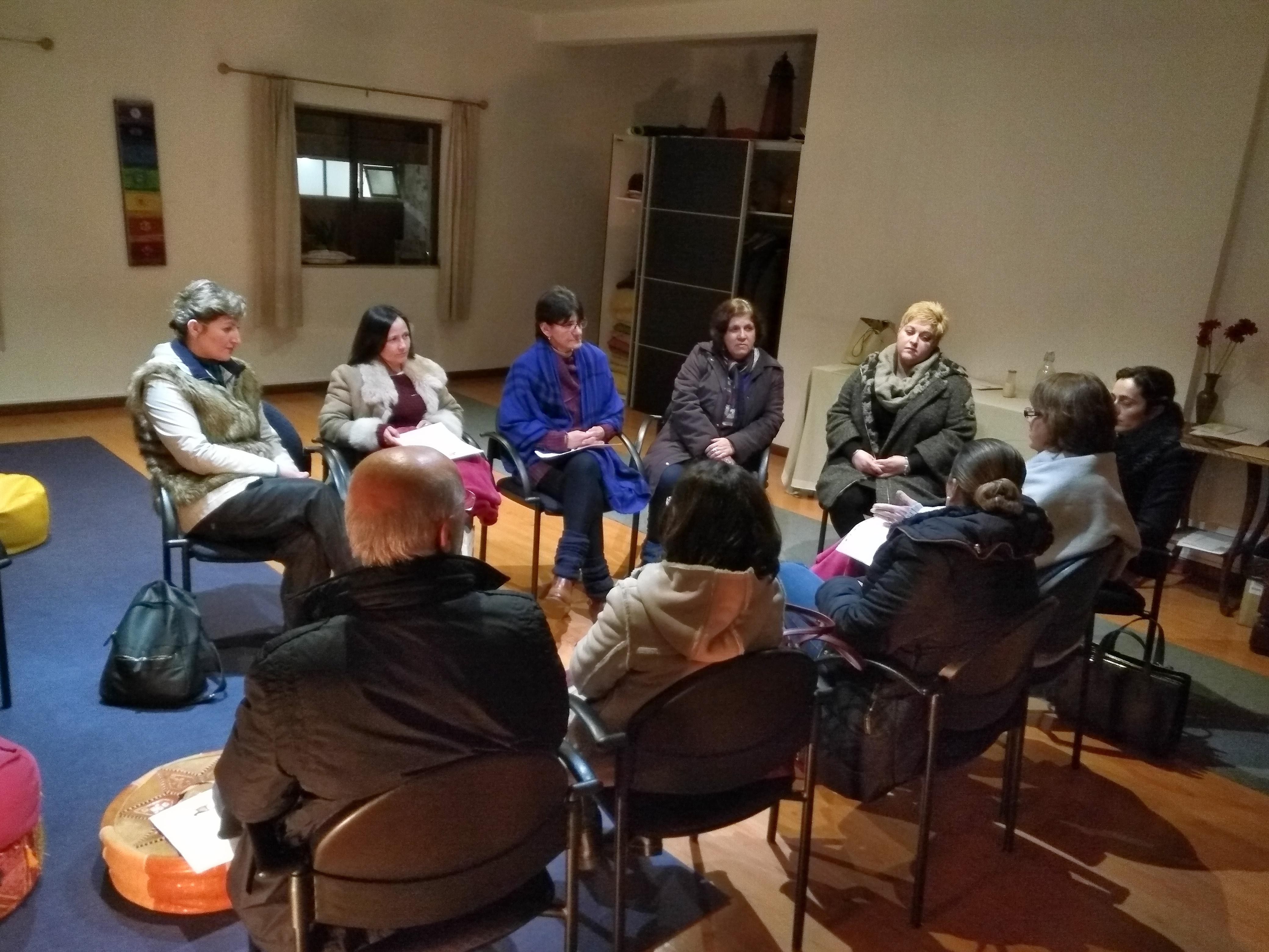 Reunião de Voluntários em Braga