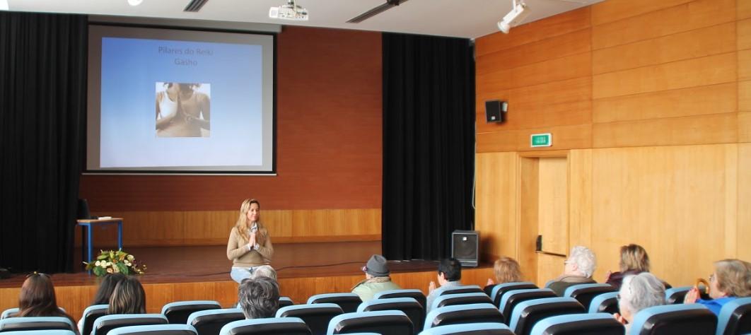 Núcleo de Azambuja leva Reiki a Universidade Sénior