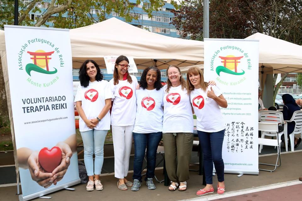 Mina de Água: Gerações em Movimento com a participação da Associação Portuguesa de Reiki