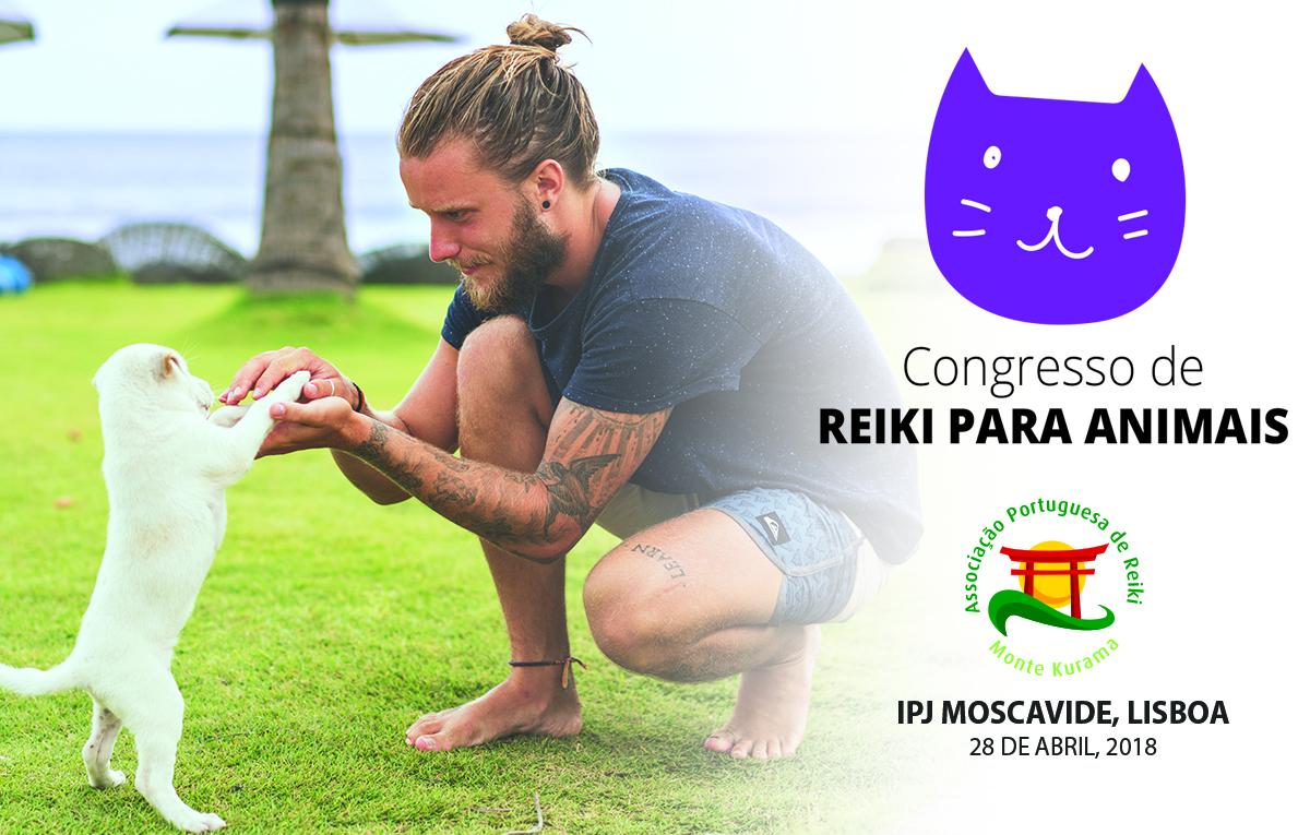 Congresso de Reiki para Animais em Lisboa – 28 de Abril
