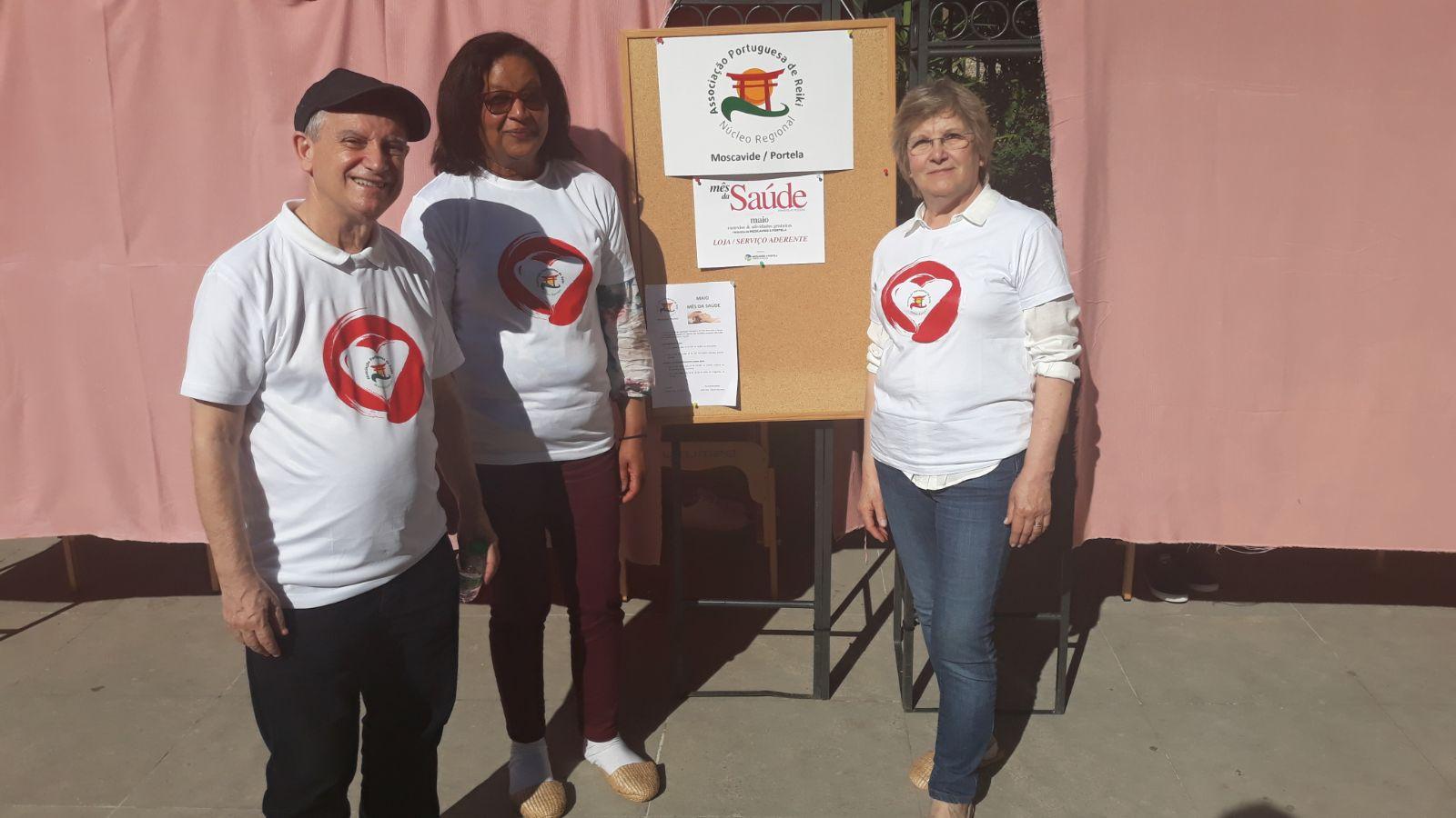 O Reiki no mês da Saúde na freguesia Moscavide e Portela