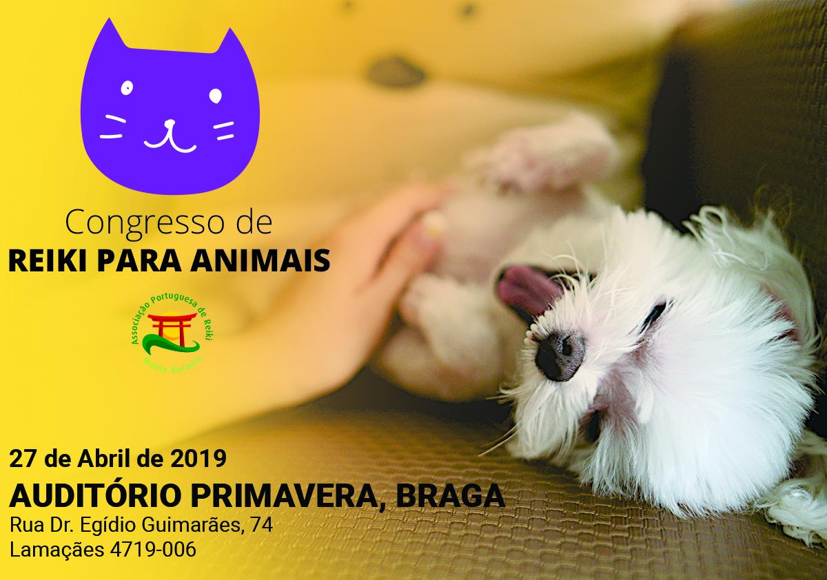 II Congresso de Reiki para Animais – BRAGA
