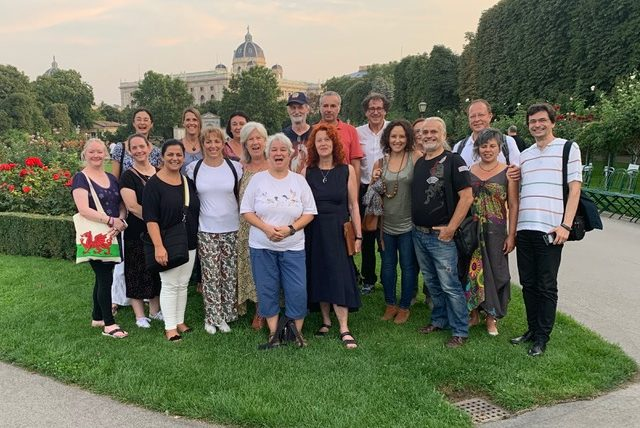 2ª Encontro do Grupo Europeu de Reiki em Viena