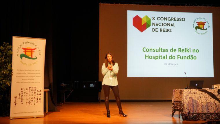 Testemunho de Inês Campos sobre a participação no X Congresso Nacional de Reiki – Projeto Hospital do Fundão