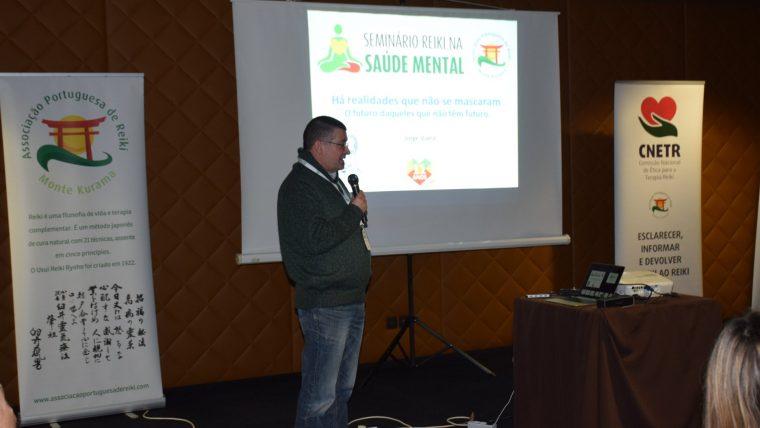 Testemunho de Jorge Viana sobre a apresentação do Núcleo de Viana do Castelo no Seminário Reiki na Saúde Mental