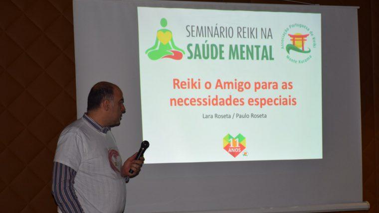 Testemunho de Paulo e Lara Roseta sobre o Seminário Reiki na Saúde Mental e o trabalho em Barcelos
