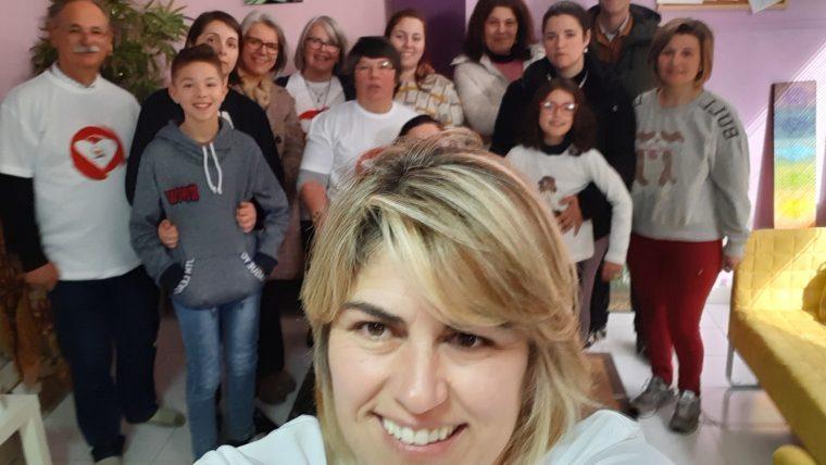 Manhã de voluntariado no núcleo de reiki de Mira de Aire no dia 9 de fevereiro