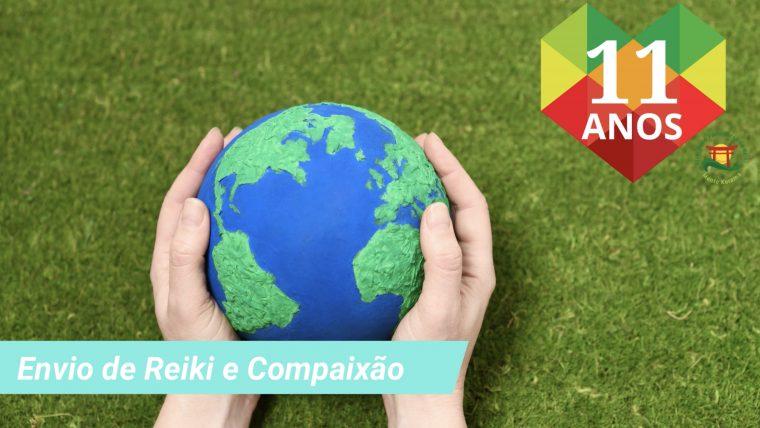 Meditação com Reiki e Compaixão – Apoio às aulas de Reiki
