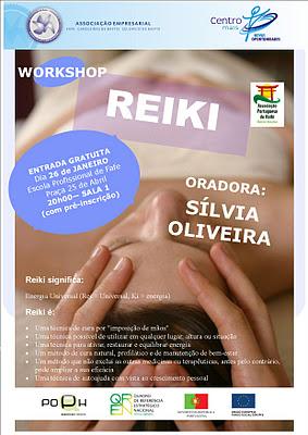 Reiki no Centro Novas Oportunidades da Associação Empresarial de Fafe