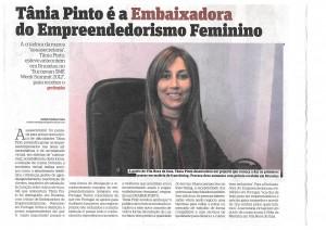 Tânia Pinto é eleita Embaixadora do Empreendedorismo Feminino | Reiki em Portugal