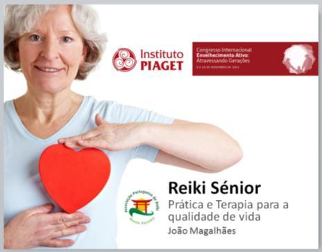 Congresso Internacional de Envelhecimento Ativo – Reiki para Seniores