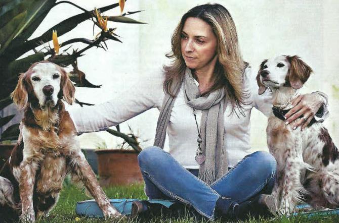 Trabalho de Carla Brito com Reiki para animais em destaque