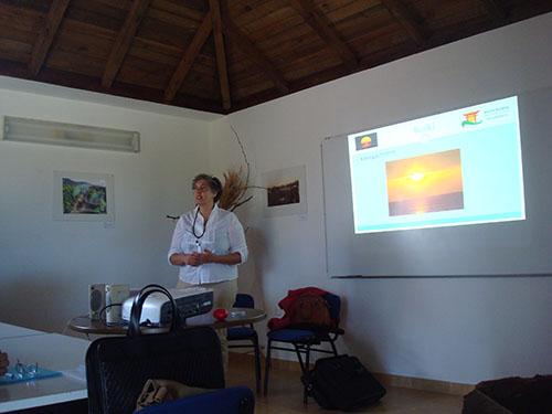 Reiki na Universidade Sénior de Porto Santo