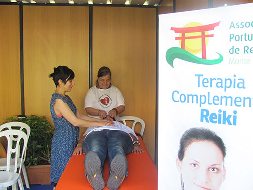 Reiki na 3 Feira de Saúde e bem-estar da Amadora