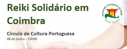 Palestra sobre Reiki em Coimbra
