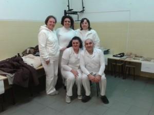 Voluntários - Grupo da tarde.