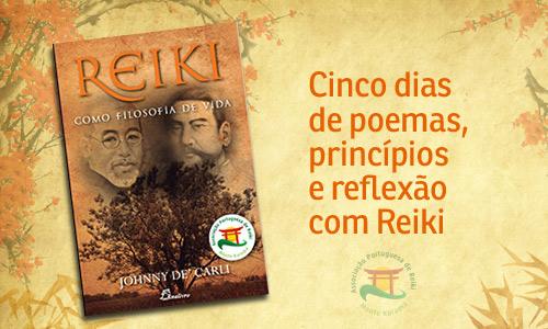 Cinco dias de poemas, princípios e reflexão com Reiki