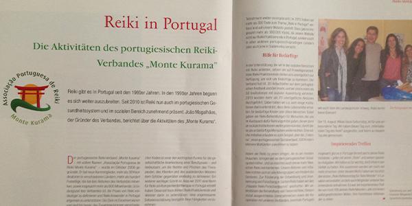 Entrevista na Reiki Magazin – O trabalho da Associação Portuguesa de Reiki