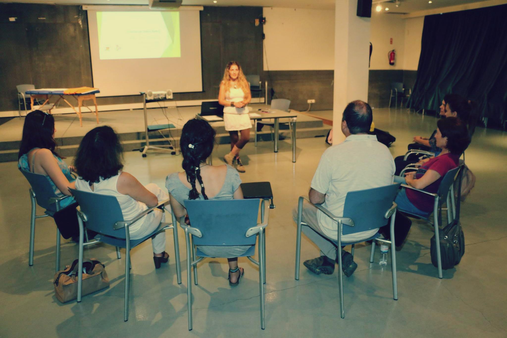 """No passado dia 20 de Junho decorreu o Workshop """"Conversas sobre Reiki"""" na Biblioteca D. Dinis"""