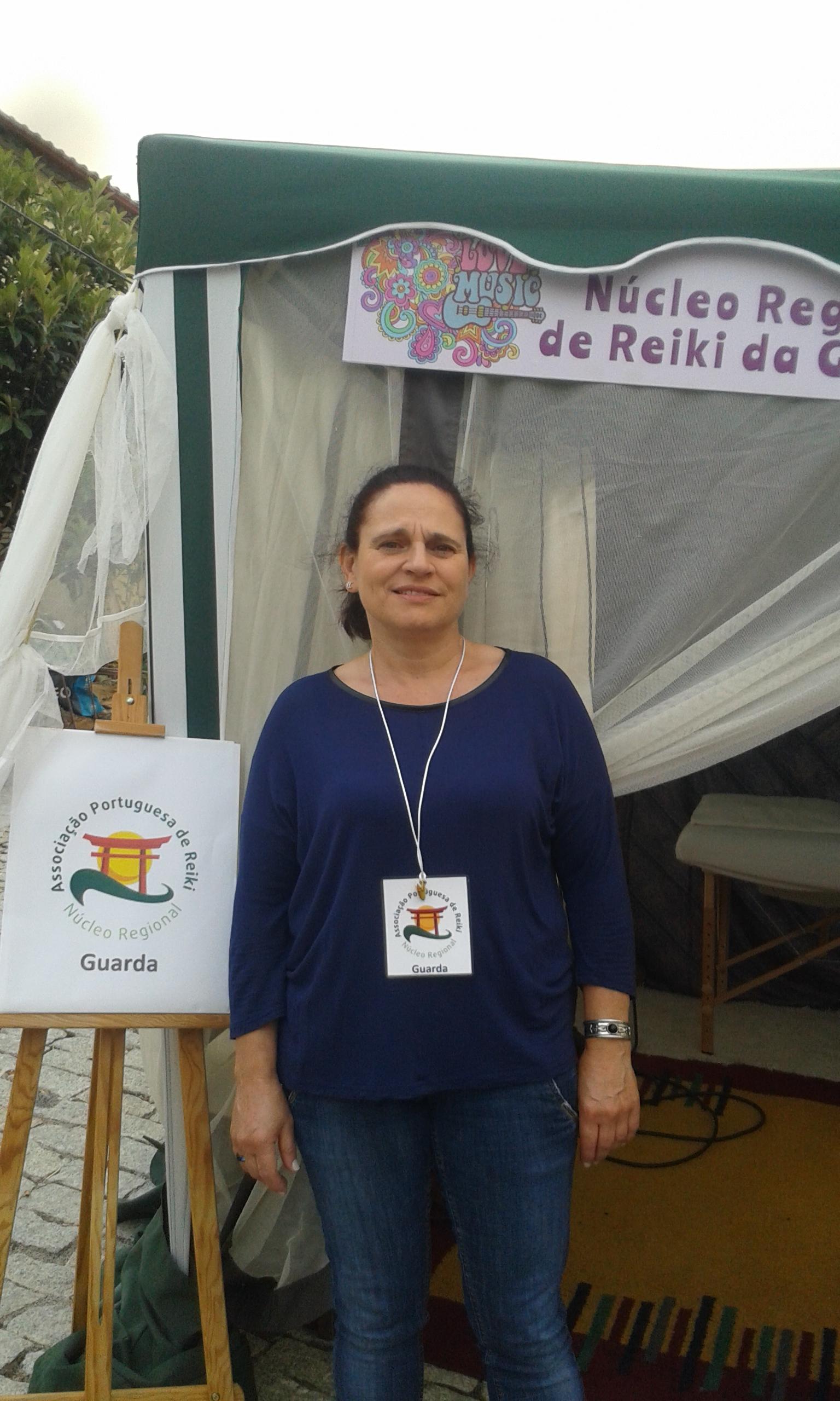 """O Núcleo de Reiki da Guarda esteve presente na Feira do Sabugal """"Surpreenda os Sentidos"""" de 24 a 26 de Julho"""