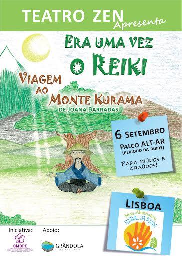 Teatro feito de Reiki – Era Uma Vez o Reiki – Viagem ao Monte Kurama