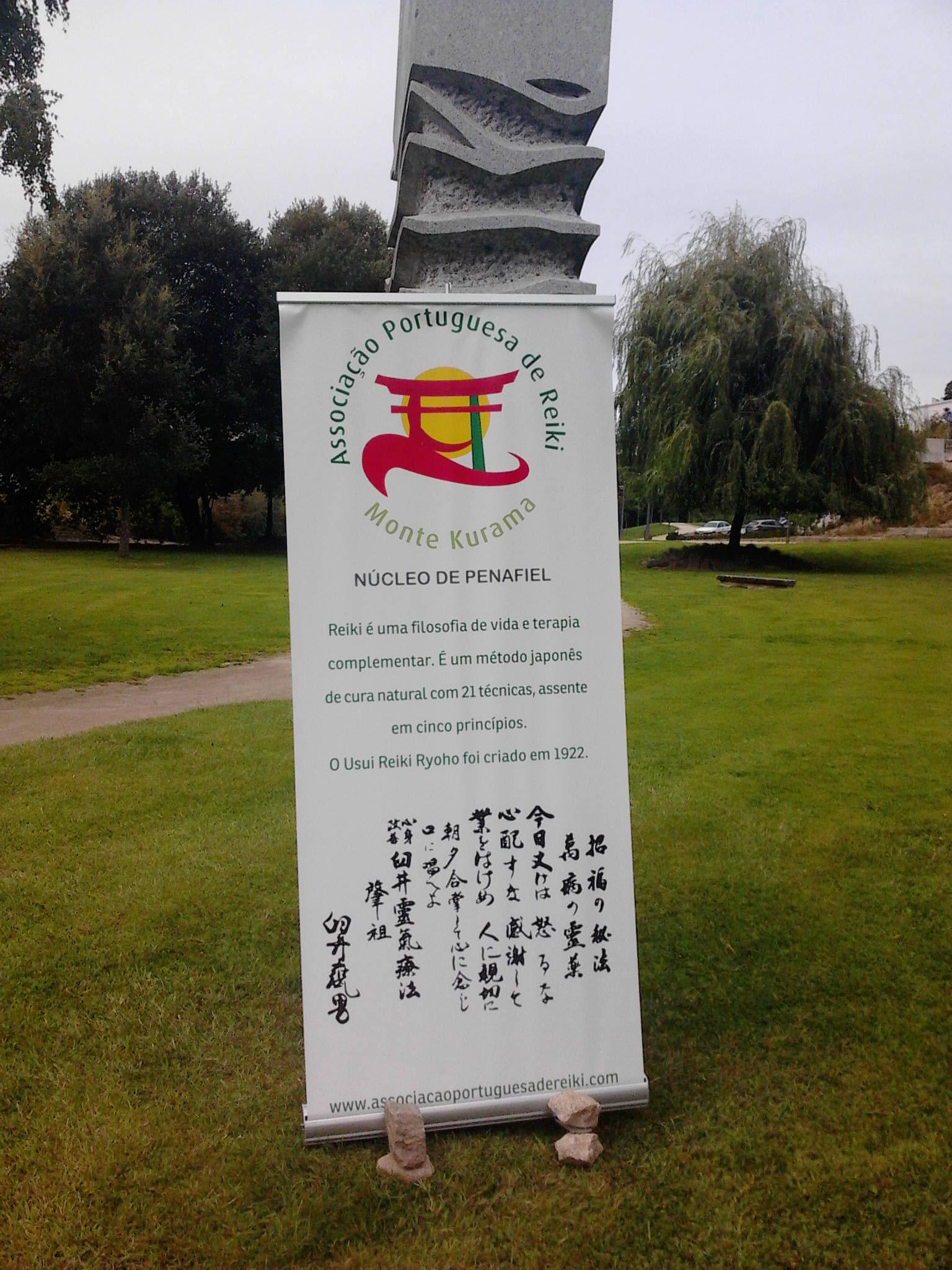 Dia Internacional do Reiki 150 º Aniversário Mestre Mikao Usui comemorado pelo Núcleo de Penafiel