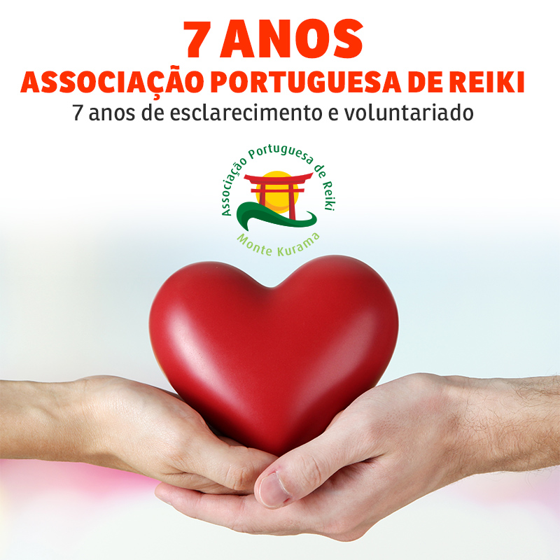 7 anos de Associação Portuguesa de Reiki