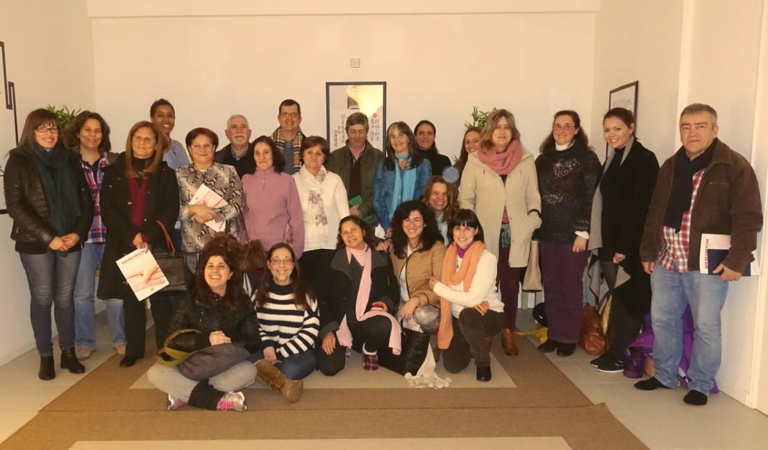 Encontro de voluntários da Associação Portuguesa de Reiki na Amadora