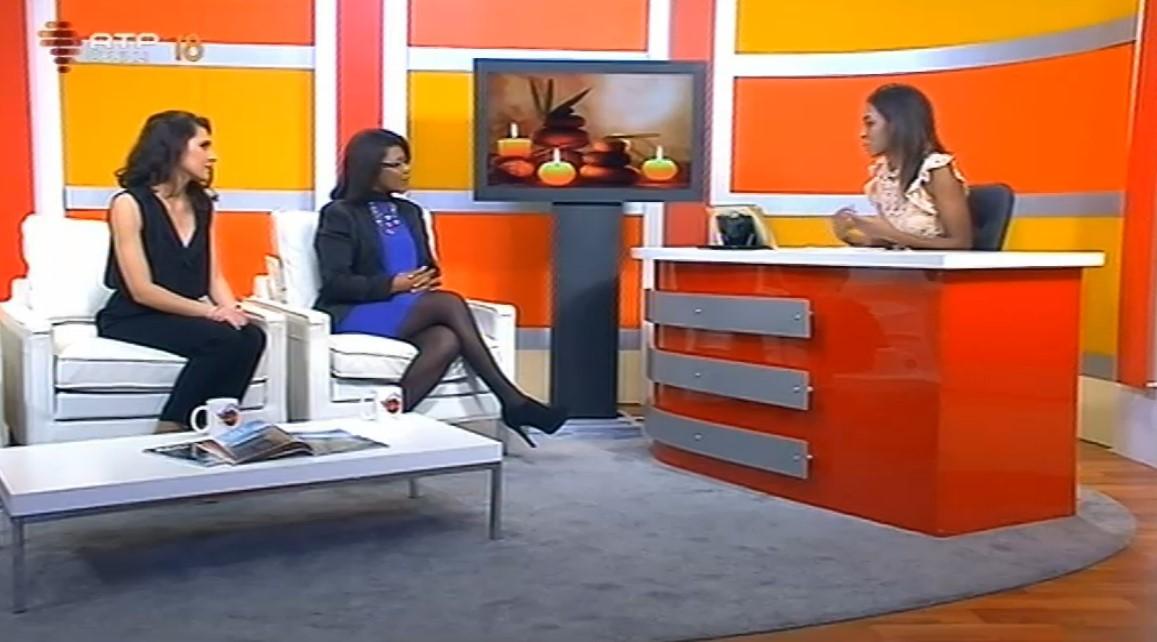 Ana Semedo e Inês Lopes na RTP África, uma entrevista sobre Reiki