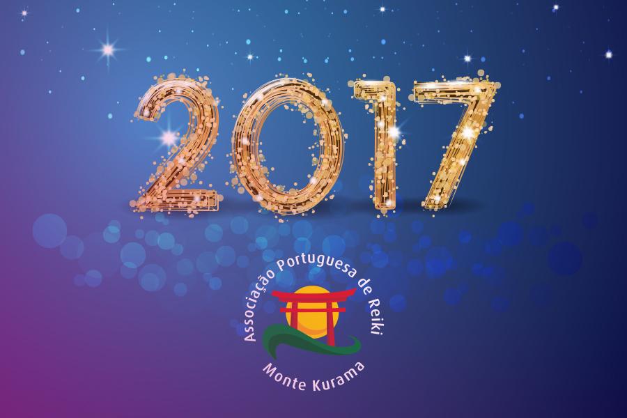 Feliz 2017 e com muito Reiki!!!